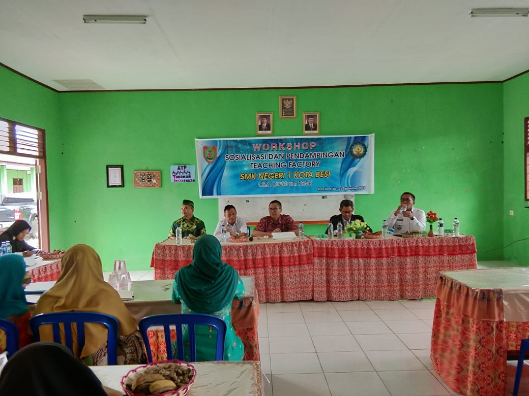 Workshop Teaching Factory SMKN 1 Kota Besi